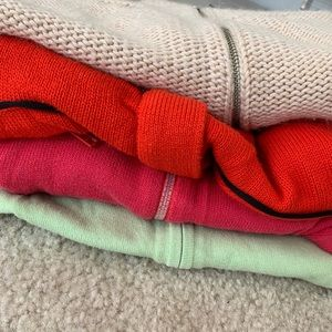 4 sweaters